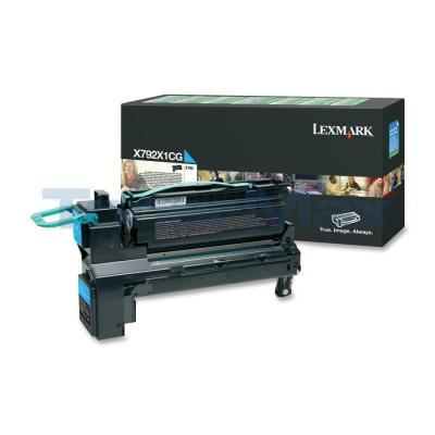 LEXMARK X792 PRINT CART CYAN RP 20K